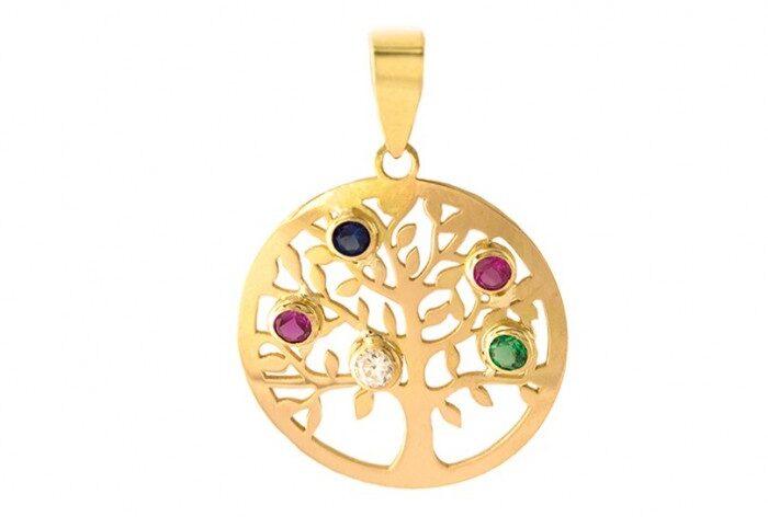 árbol de la vida de colores